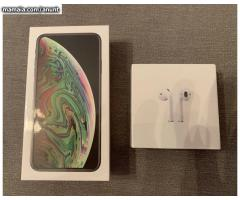 Apple iPhone XS 64GB € 400 iPhone XS Max 64gb € 430 iPhone X 64gb € 300
