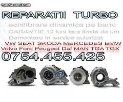 Reconditionare turbina Volvo S40 C30 S60 V40 XC90 1.6 tdci Ford focus