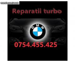 reconditionare turbina BMW f10 e60 535d 520d 525d asiguram montaj service Bucuresti twin power turbo