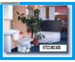 Reparatii Instalatii sanitare-termice, non stop