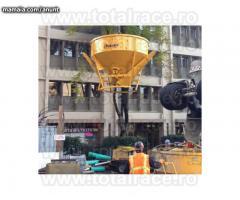 Bena beton  jgheab productie Italia Total Race