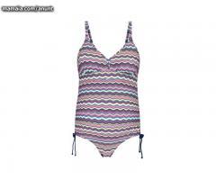 Costum de baie intreg pentru gravide multicolor dungi Esprit